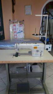 Prodaja pribora za šivalne stroje in likalnike